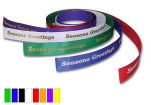 Continuous Satin Acetate Ribbon
